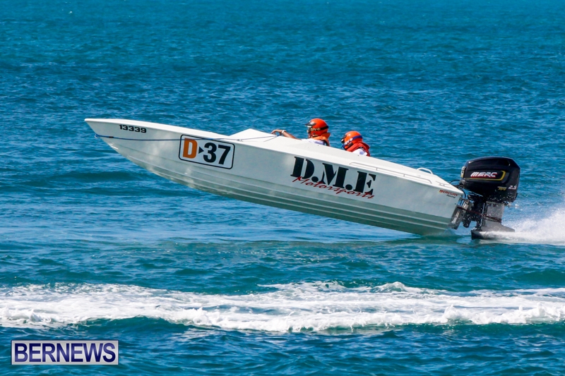 Bermuda Powerboat Racing at Spanish Point, October 6, 2013-22