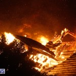 Cedar Avenue Structural Fire Bermuda, October 17, 2013-27