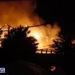 Cedar Avenue Structural Fire Bermuda, October 17, 2013-40