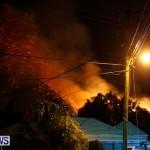 Cedar Avenue Structural Fire Bermuda, October 17, 2013-47