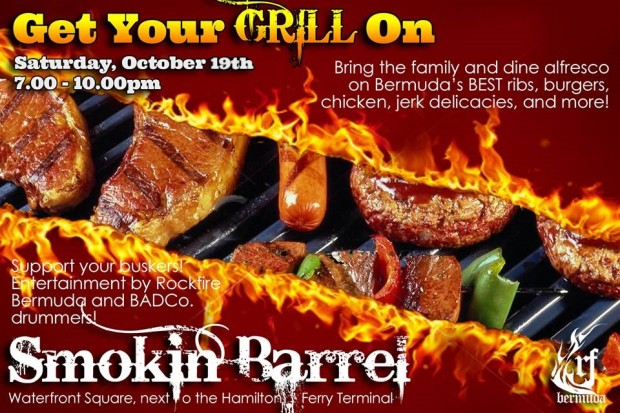 Get Your Grill On ~ Smokin barrel presents get your grill on bernews