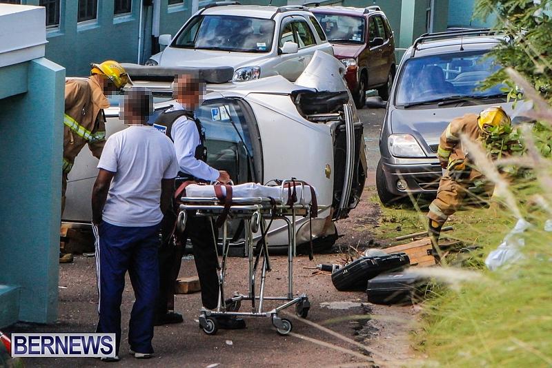 Car Crash Devonshire November