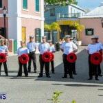 Remembrance Day Observed in St George's  Bermuda,November 7 2013-2