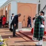 Remembrance Day Observed in St George's  Bermuda,November 7 2013-22