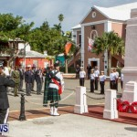 Remembrance Day Observed in St George's  Bermuda,November 7 2013-27