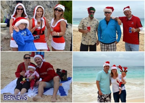 2013 Christmas Bermuda Elbow Beach collage