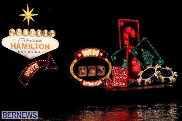 Charles Crisson casino boat bermuda parade 2013