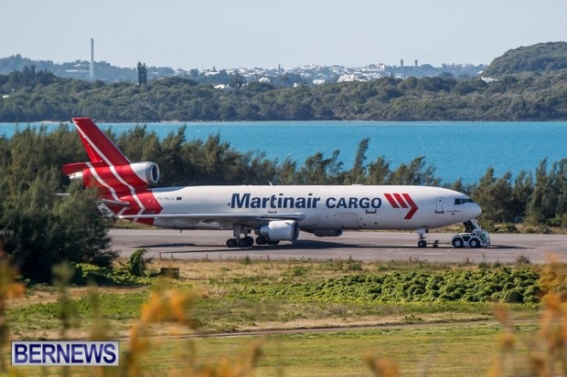 Martinair Cargo Plane Diversion Bermuda, December 29 2013-1