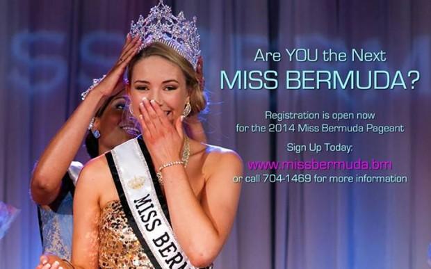 Miss Bermuda 2014 promo