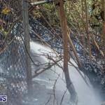 St Davids Brush Fire Bermuda, December 10 2013-9