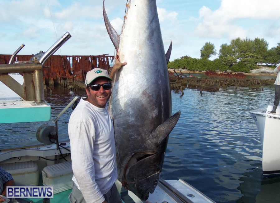 National fisherman features 1000lb bluefin bernews for Tuna fishing video