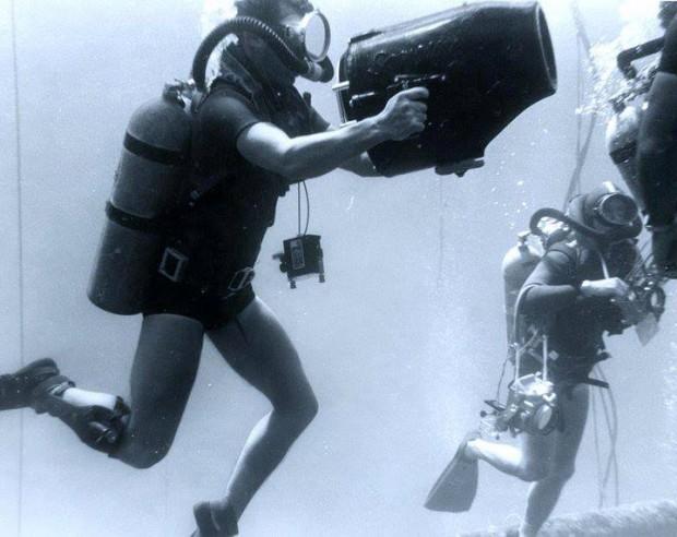 sealab divers