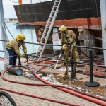 Boat Fire Bermuda, January 4 2014-24