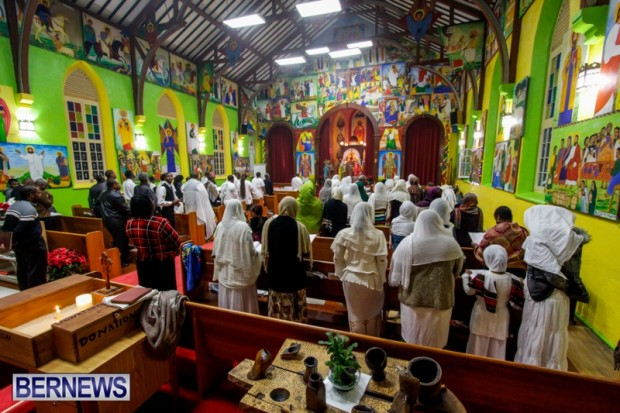 Ethiopian Orthodox Church celebrate Christmas Bermuda, January 5 2014 ...