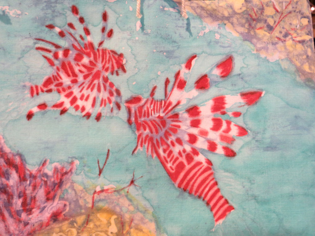 Lion Fish Joyce Beale Batik