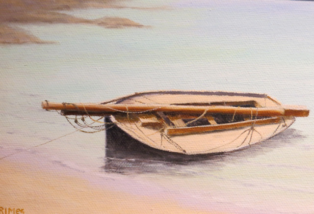 Resting at Mangrove Bay Christopher Grimes OIl