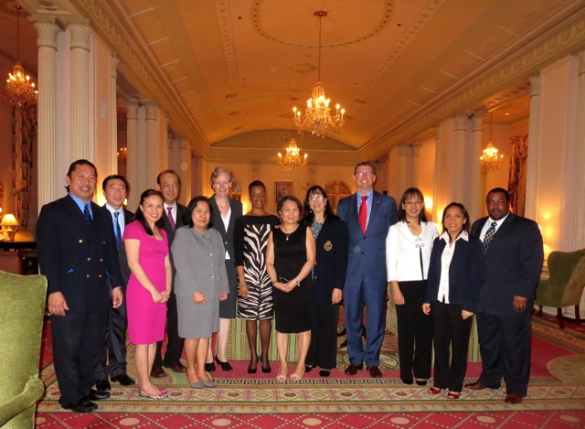 Philippine Embassy Team Visit