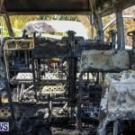 Shelly Bay Van Fire Bermuda, Feb 2 2014-10