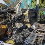 Shelly Bay Van Fire Bermuda, Feb 2 2014-14