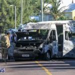 Shelly Bay Van Fire Bermuda, Feb 2 2014-2