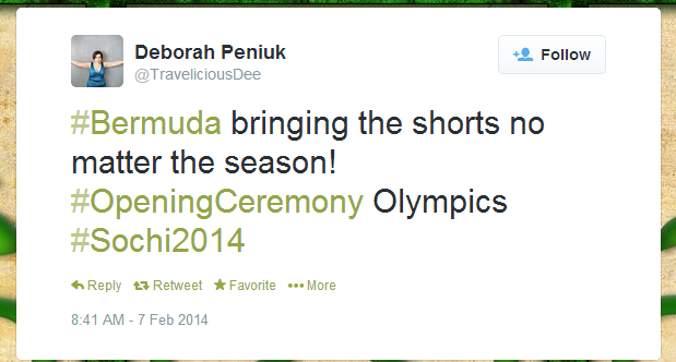Twitter   TraveliciousDee   Bermuda bringing the shorts ...