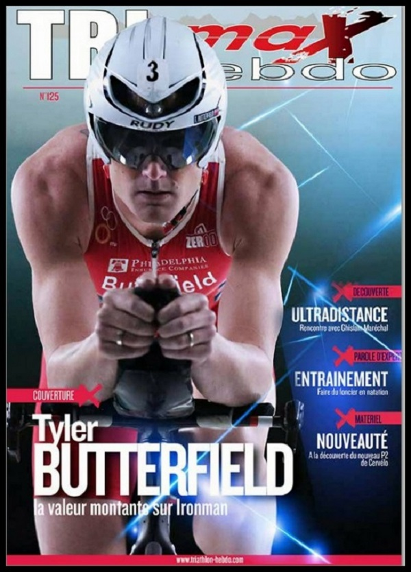 Tyler Butterfield Trimax Hebdo Magazine