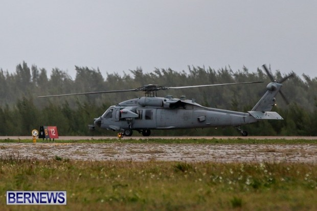 US Air Force Navy Helicopter Bermuda, Feb 13 2014-2