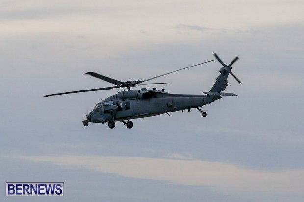 US Air Force Navy Helicopter Bermuda, Feb 13 2014-3