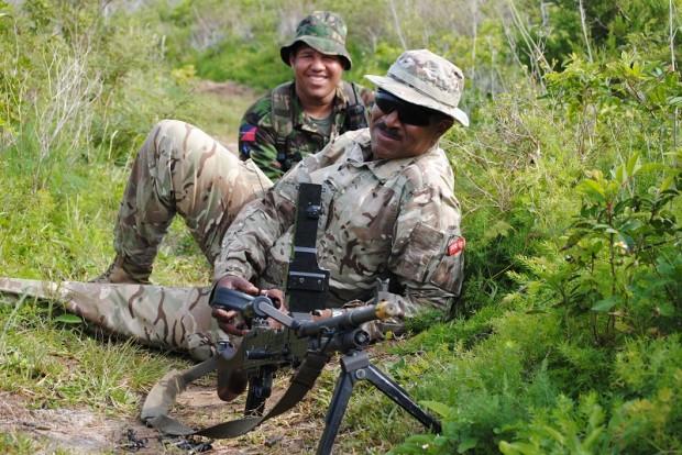 Bermuda Junior Leaders Regiment 2014  (2)
