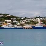 Danish research vessel Dana and Walther Herwig III in Bermuda, March 15 2014-3