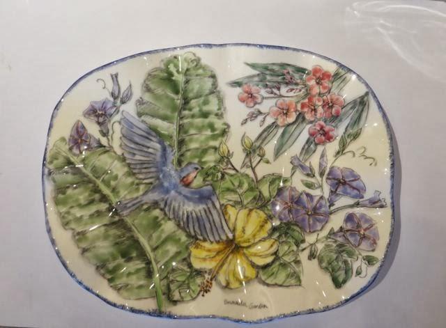 Garden-Helle Pukk-Ceramic Platter
