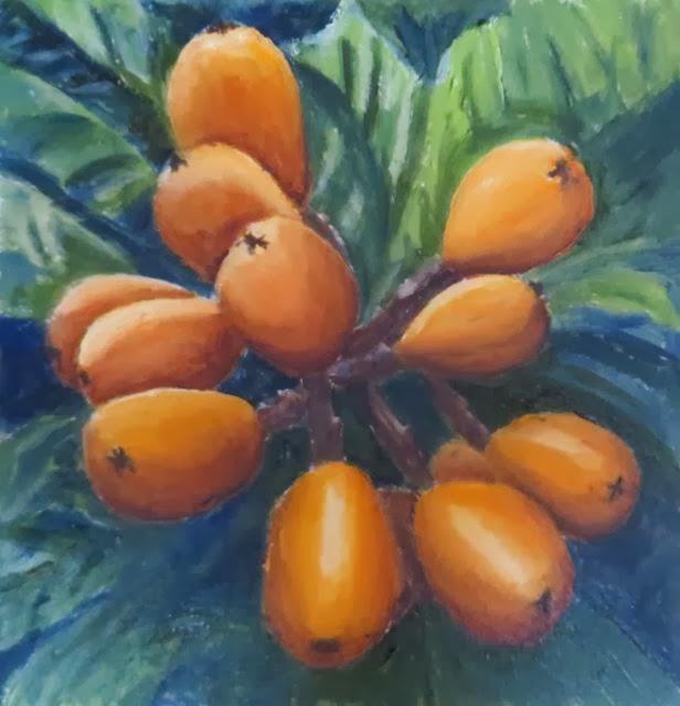 Loquats-Heidi Cowen-Oil