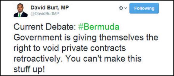 MP david burt tweet