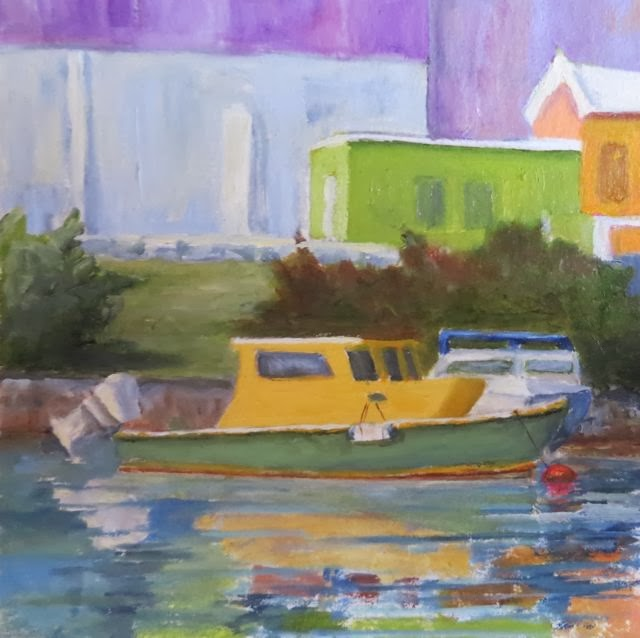 Mullet Bay, St. Georges-Heidi Cowen-Oil