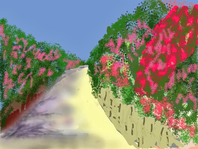 Oleander Lane-Rick Marson-iPad Art