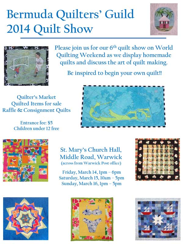Bermuda Quilters Guild To Hold Show In March - Bernews