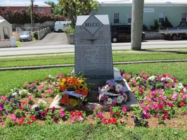 BELCO OHS&E Week Memorial Ceremony - BELCO Monument