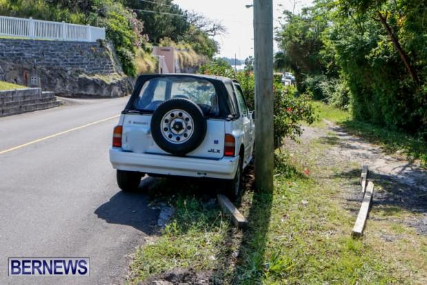 Car Accident Bermuda, April 19 2014-5
