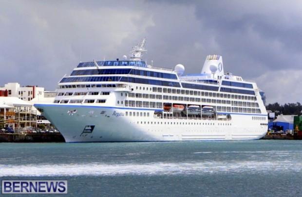 Hamilton Welcomes Second Cruise Ship Of 2014 - Bernews.com : Bernews ...