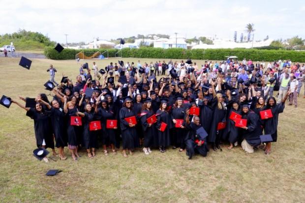 Bermuda College Graduates 2014