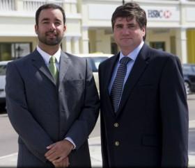 Brett Corday (L) & Stephen Bull (R)