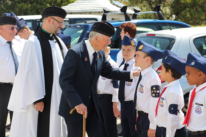 Boys brigade founder celebrates 99th birthday bernews with over 40 members presently led by david semos at st pauls church under the priest in charge the revd anthony d pettit the boys brigade meet on thecheapjerseys Choice Image