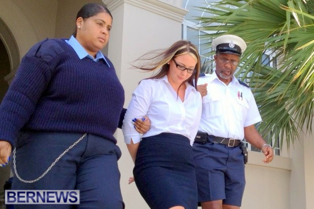 Natalie Simpson jailed Bermuda 2014