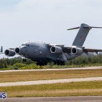 Royal Air Force C17 Emergency Plane Landing Bermuda, May 11 2014-12