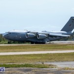 Royal Air Force C17 Emergency Plane Landing Bermuda, May 11 2014-15