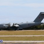 Royal Air Force C17 Emergency Plane Landing Bermuda, May 11 2014-17