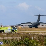 Royal Air Force C17 Emergency Plane Landing Bermuda, May 11 2014-19