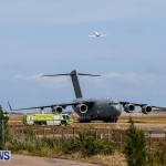 Royal Air Force C17 Emergency Plane Landing Bermuda, May 11 2014-21