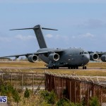 Royal Air Force C17 Emergency Plane Landing Bermuda, May 11 2014-22