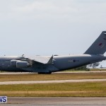 Royal Air Force C17 Emergency Plane Landing Bermuda, May 11 2014-26